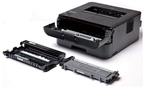 Принтер Brother HL-L2365DWR з тонер-картриджем і DRUM-картриджем