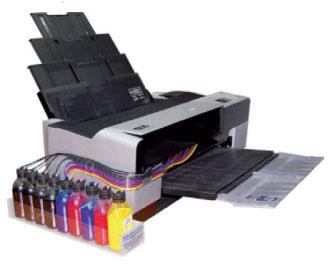 Кольоровий струменевий принтер