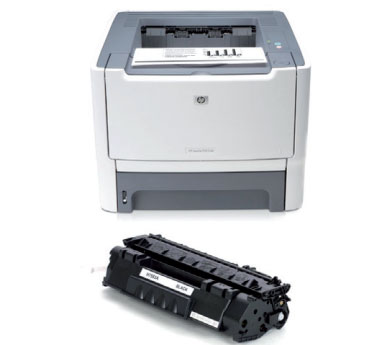 Принтер HP Laserjet 2015 з картриджем
