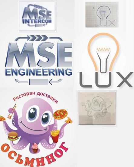 Логотип за вашим зразком або ескізом