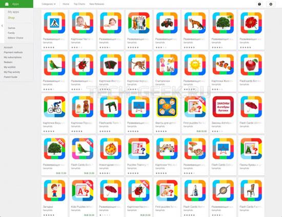 Сірі методи просування додатків в Google Play