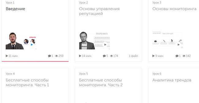 """курс """"Репутаційний маркетинг (2019)"""""""