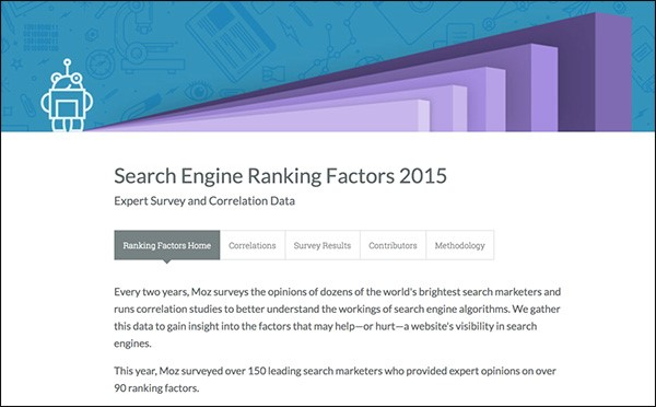 Search engine ranking factors фото