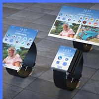 IBM запатентувала розумний годинник з гнучким екраном фото, картинка
