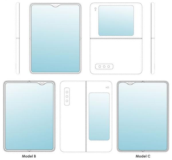 Рендери проливають світло на гнучкий смартфон Galaxy Fold 2
