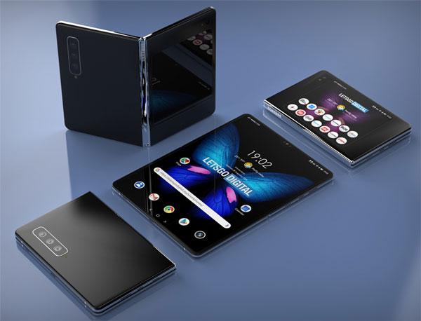 гнучкий смартфон Galaxy Fold 2 фото, картинка